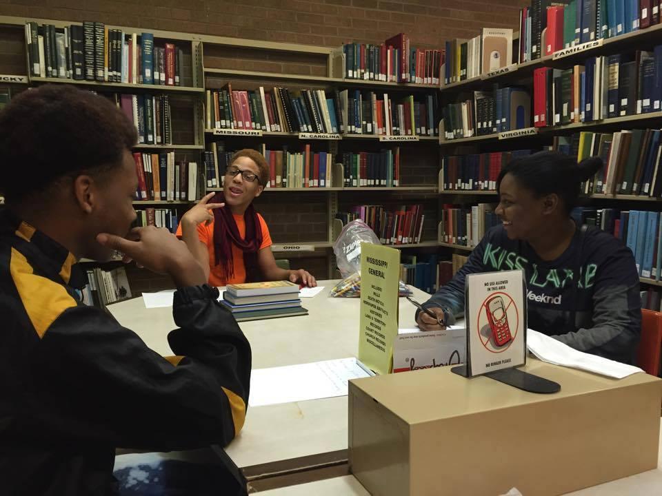 Sam_Edward_Marnesha at the Greenville Public Library
