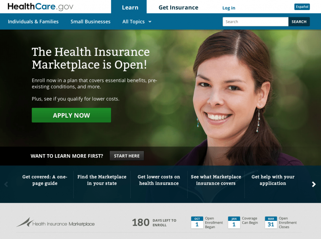 The friendly face of Obamacare